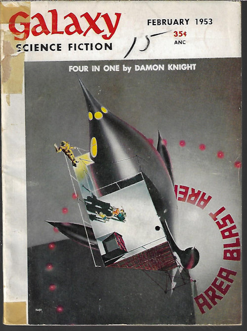 "Image for GALAXY Science Fiction: February, Feb. 1953 (""Ring Around the Sun"")"
