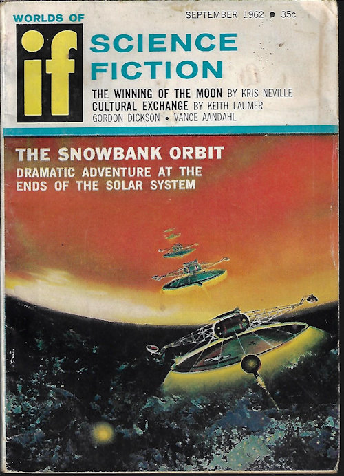 Image for IF Worlds of Science Fiction: September, Sept. 1962