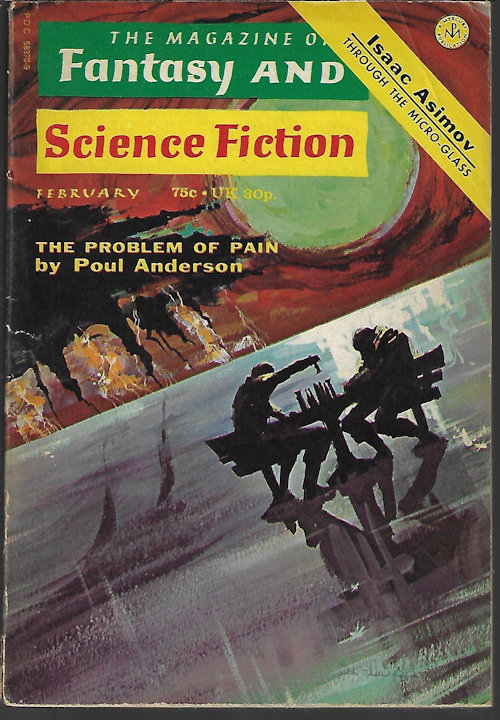 Image for The Magazine of FANTASY AND SCIENCE FICTION (F&SF): February, Feb. 1973