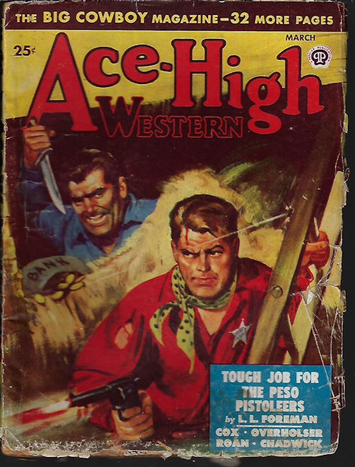 Image for ACE-HIGH WESTERN Stories: March, Mar. 1949