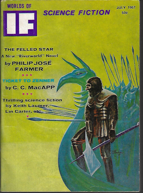 "Image for IF Worlds of Science Fiction: July 1967 (""Spaceman"")"