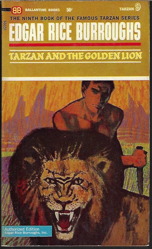 Image for TARZAN AND THE GOLDEN LION (Tarzan #9)