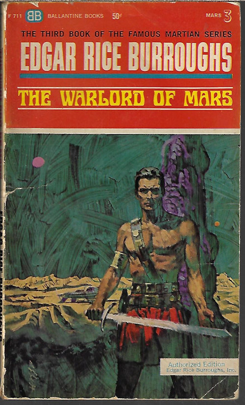 Image for THE WARLORD OF MARS (#3)