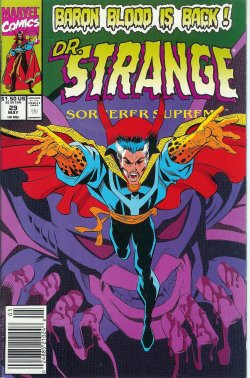 DOCTOR STRANGE Sorcerer Supreme May 29