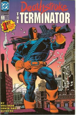 DEATHSTROKE THE TERMINATOR Aug 1