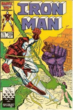 IRON MAN - Iron Man: Aug #209