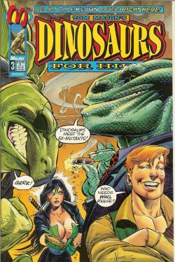 DINOSAURS FOR HIRE - Dinosaurs for Hire: Apr #3