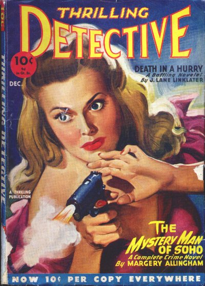 THRILLING DETECTIVE December, Dec 1946