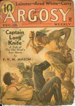 ARGOSY Weekly December, Dec 29, 1934 A Grave Mus