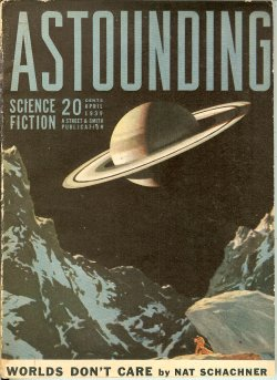 ASTOUNDING Science Fiction April, Apr 1939 One A